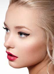 cream eyeshadow look