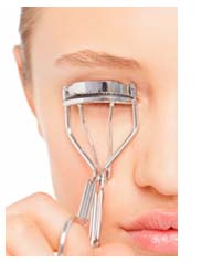 how to use eyelash curler in hindi