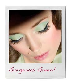 green eyeshadow for brown eye