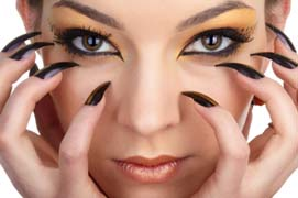 cat eye makeup look
